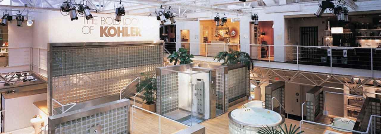关于设计中心 科勒设计中心共分三层,创新的产品设计与科技,科勒公司
