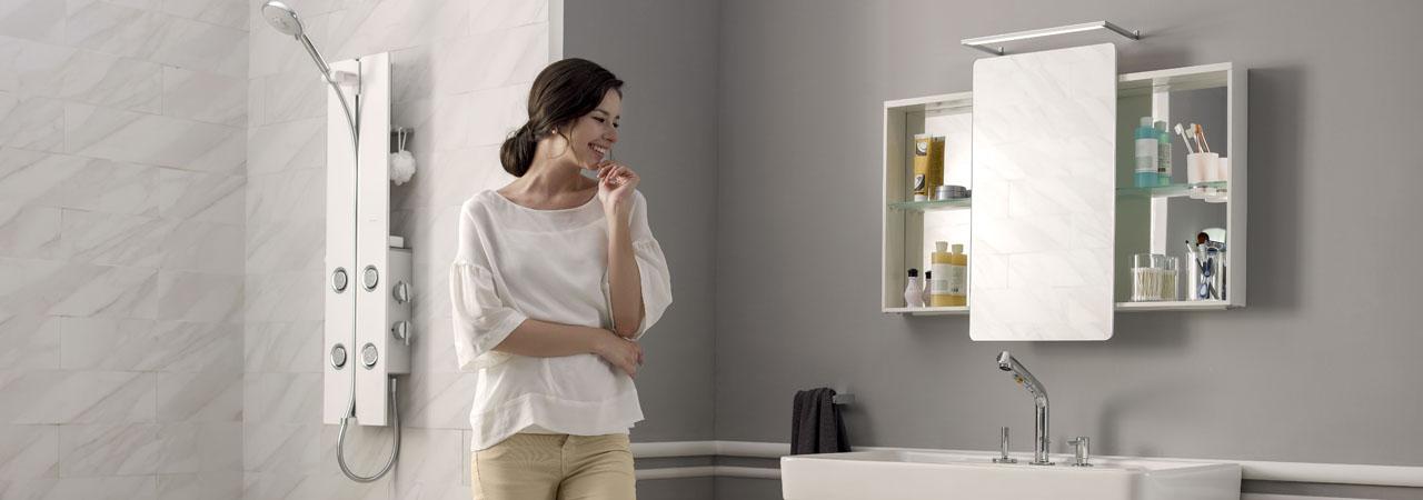 重新装修浴室