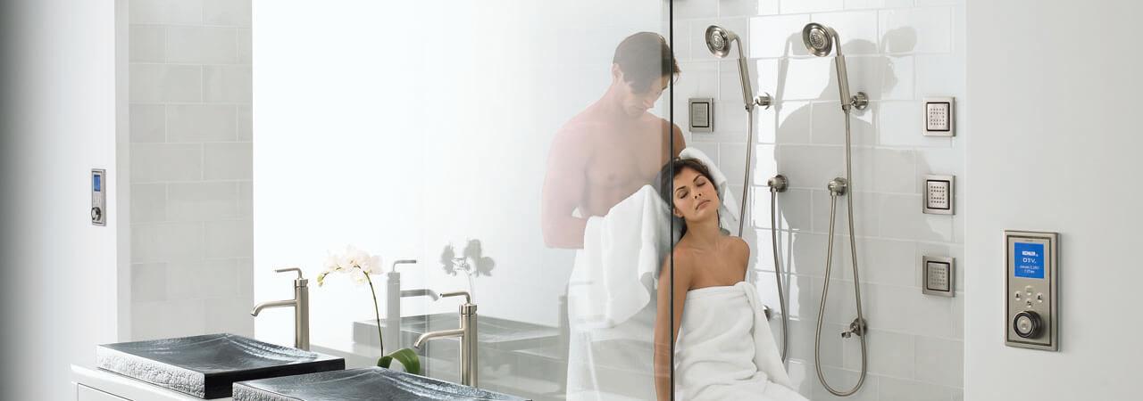 如何共享浴室 — 二人世界乐趣