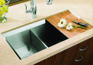 为什么选择科勒不锈钢水槽